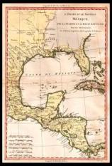 Carta-geografica-messico-golfo-cuba-yucatan-florida