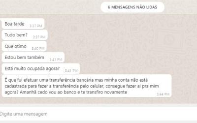 Alerta: Itaunense teve o Whatsapp clonado