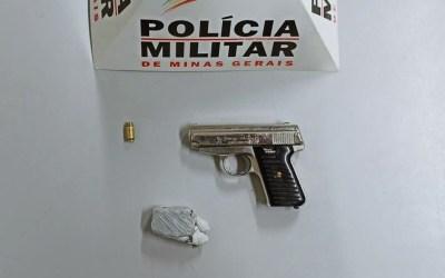 Suspeito de homicídio é detido por porte ilegal de arma em Itaúna