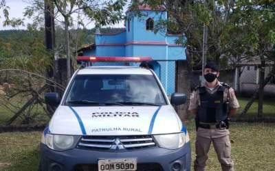 PM visita Itatiaiuçu durante Operação Campo Seguro