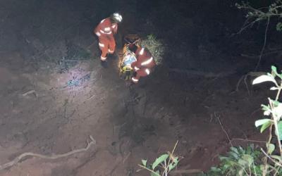 Mulher desaparecida é encontrada em buraco com 7 metros de profundidade