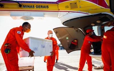 Estado envia mais de 40 mil doses da AstraZeneca e Pfizer para a região
