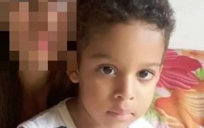 Polícia indicia pai que matou filho de 6 anos