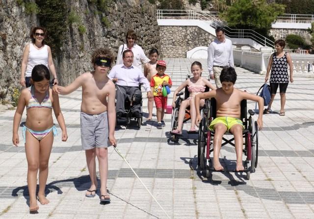 A Jugar Juntos comienza mañana en El Sardinero para sensibilizar a los niños sobre discapacidad