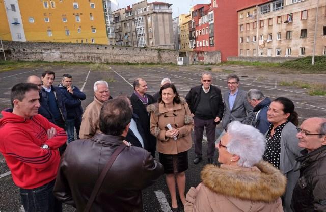 El Ayuntamiento habilitará como aparcamiento gratuito el solar de Tabacalera en la calle Alta
