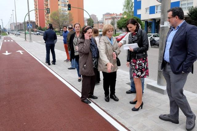 La red de carril bici alcanza los 26 kilómetros con el nuevo tramo complejo deportivo - PCTCAN