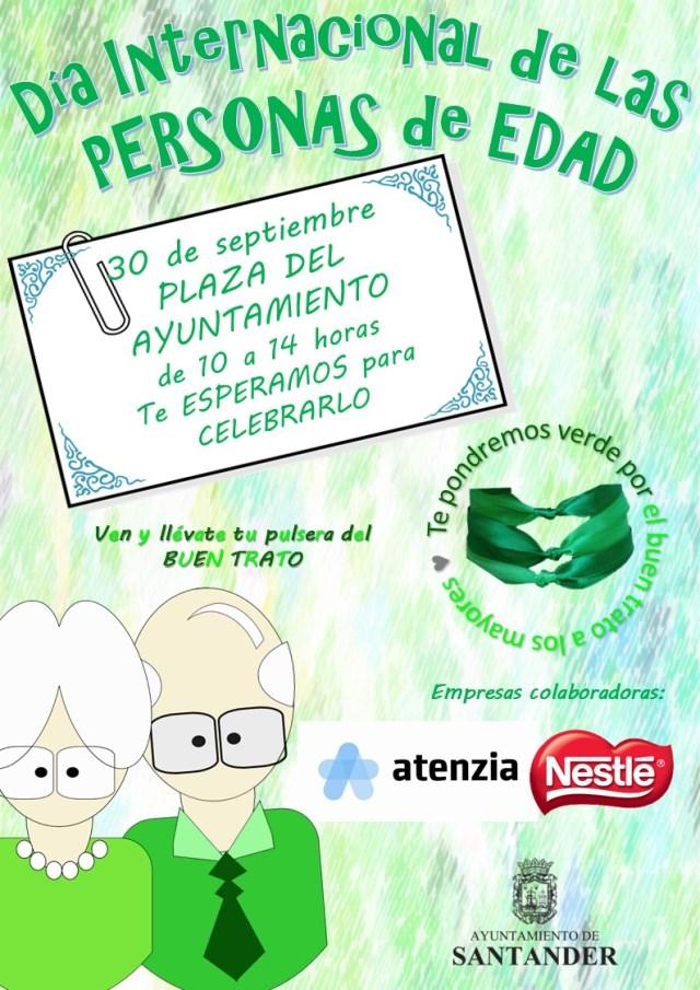 Santander celebra el Día de las Personas de Edad con actividades por el buen trato a los mayores