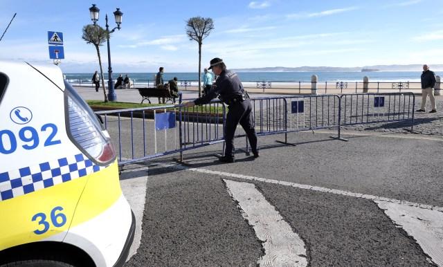 Activado el protocolo especial de seguridad ante la alerta naranja en la costa
