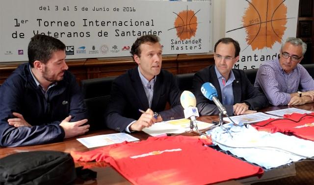 Santander acoge este fin de semana el I Torneo Internacional de Baloncesto de Veteranos
