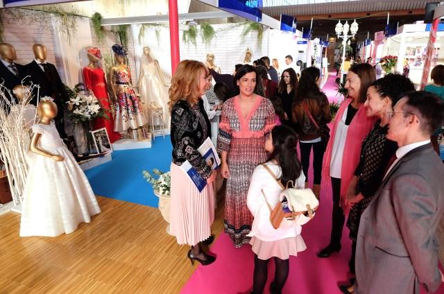 Medio centenar de empresas muestran las últimas tendencias en la Feria Bodas Cantabria