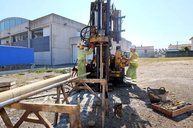 Comienza el estudio geotécnico del terreno que albergará el Centro Cívico de Cueto