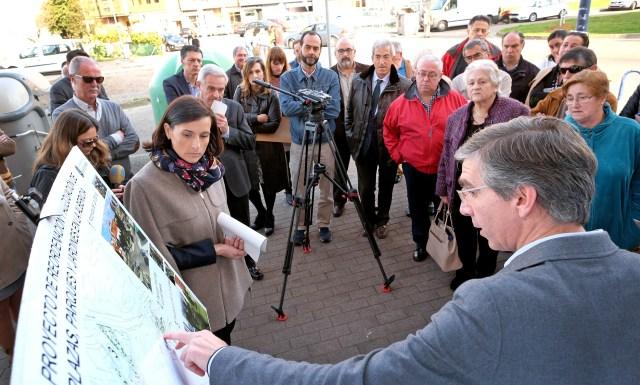 Comienzan las obras de regeneración urbana y mejora de parques y plazas en La Albericia