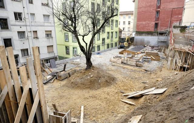 Las obras del Microespacio de la calle San Sebastián finalizan en un mes