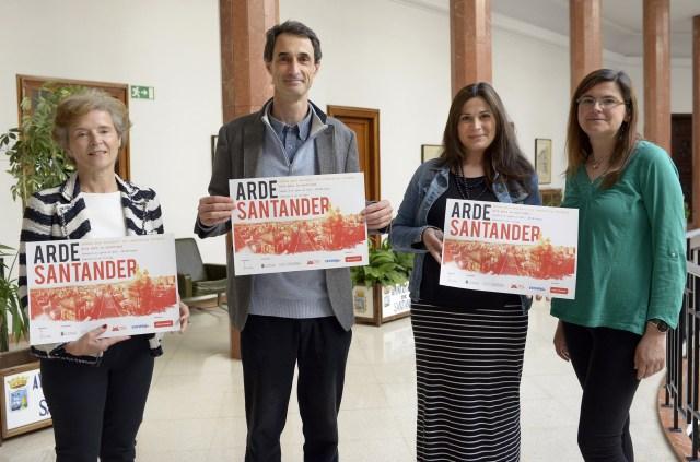 Ciriego se suma al 75 Aniversario del Incendio con la ruta artística y cultural Arde Santander
