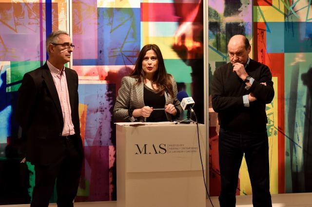 El MAS inaugura la exposición 'Lugares transitados' de Ángel Izquierdo