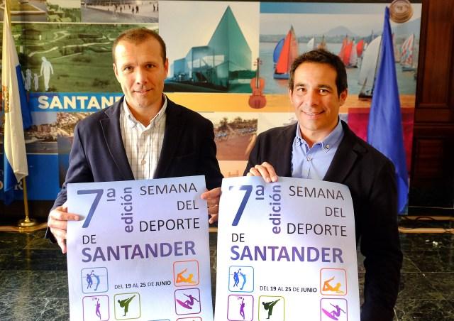 Santander celebra del 19 al 25 de junio la Semana del Deporte con 45 actividades en calles y plazas
