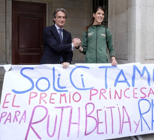 De la Serna afirma que Beitia tendrá nuevas oportunidades de optar al Princesa de Asturias