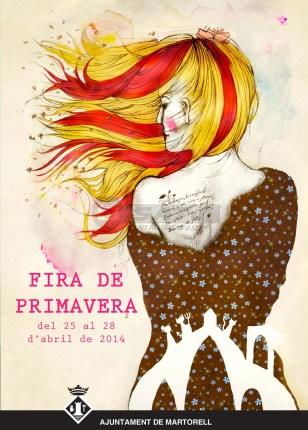 Cartell Fira Primavera 2014 Martorell