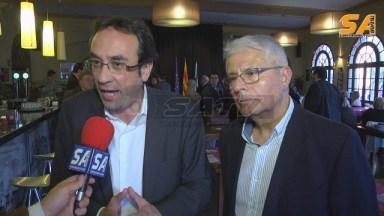 Josep Rull ( Esquerra ) i Joan Gaspa ( Dreta )