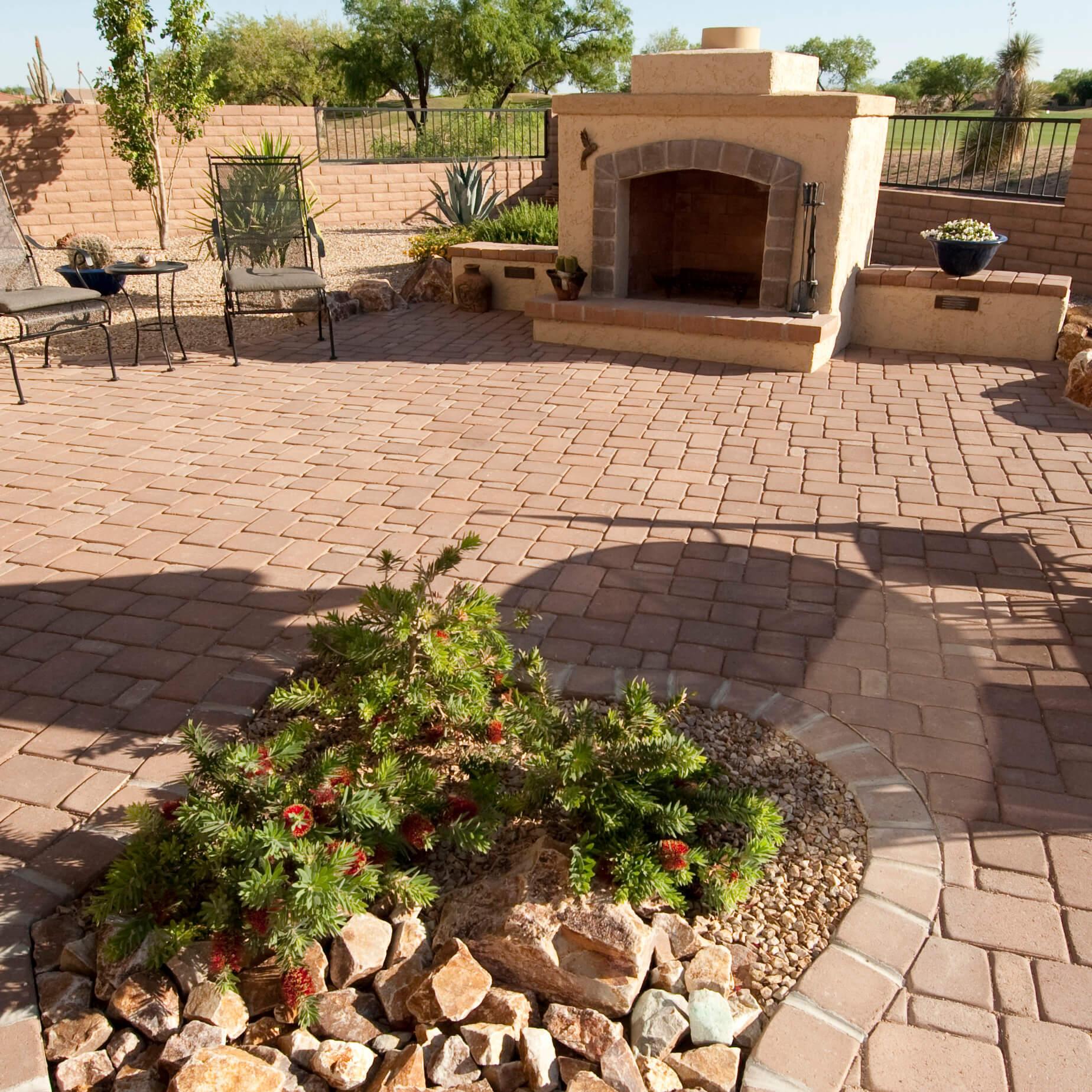 Low-Maintenance Landscape Ideas for Rental Properties | Tucson on Low Maintenance Backyard Design  id=83387