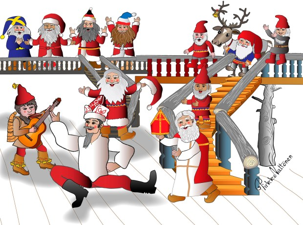 friends of Santa
