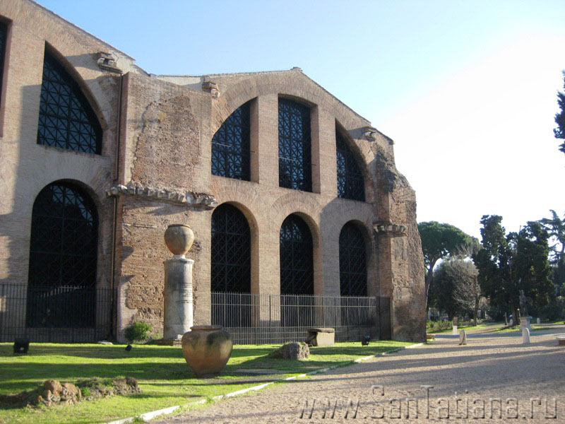 Базилика Santa Maria degli Angeli – самая необычная церковь в Риме (2/6)