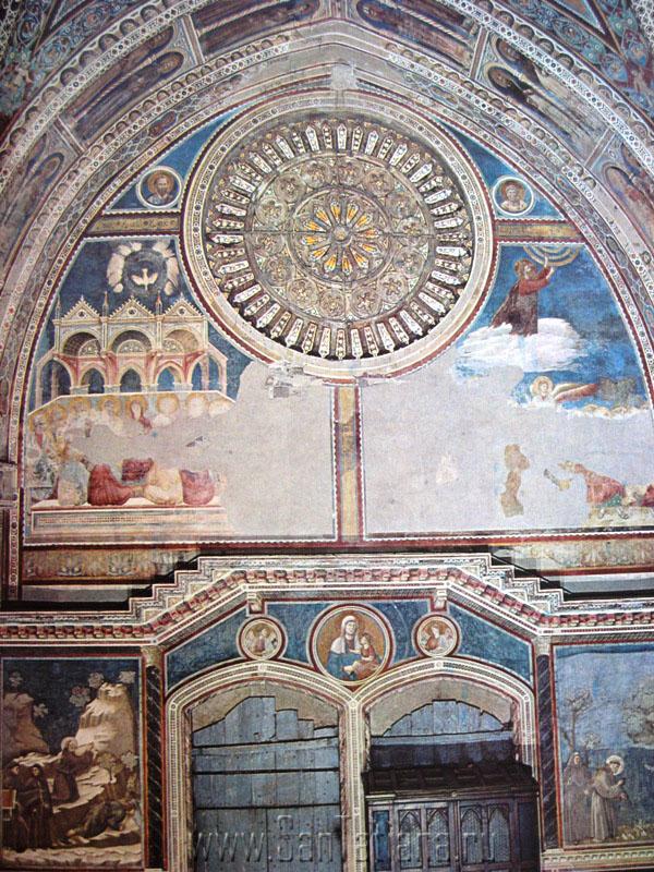 Фрески Джотто в базилике Сан Франческо в Ассизи (3/6)