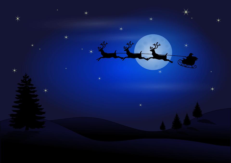 How does Santa's sleigh fly?