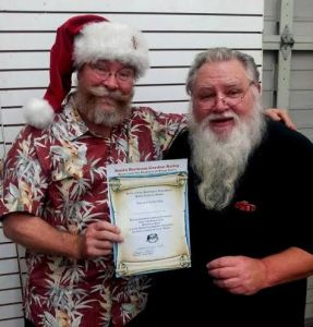 Santa True and Santa Gordon Bailey