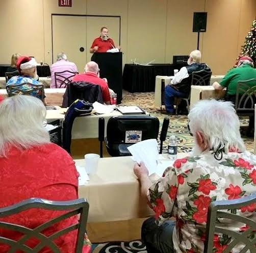 Teaching at the Nationwide Santa's Convention in Las Vegas, 2015