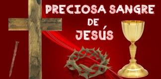 Oración a la Sangre de Cristo por una intención particular
