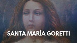 Santa María Goretti martir foto imagen
