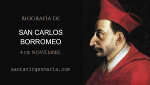 San Carlos Borromeo Milan obispo vida biografia