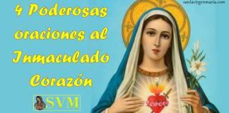 Las oraciones al corazón de María
