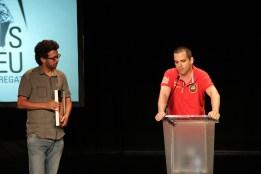 Representants del festival Blues & Ritmes de Badalona, premiat pels seus 25 anys // Jordi Julià