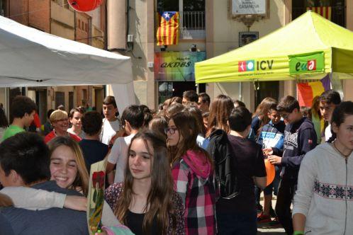 La tradición de Sant Jordi sigue viva en Sant Boi // Elisenda Colell