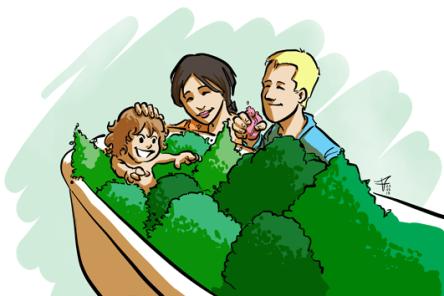 bains de forêt enfants - un bain de nature en famille