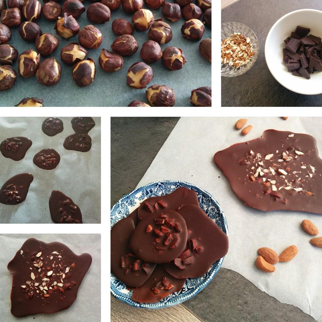 chocolat amandes work in progress