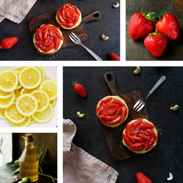 Tartelettes aux fraises IG bas _ santé et gourmandise