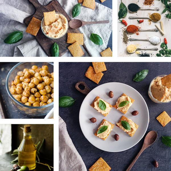 Toasts à la purée de haricots blancs et basilic _ IG bas _ santé et gourmandise