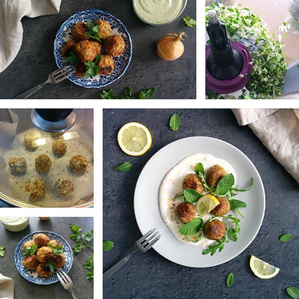 Boulettes vegan au soja IG bas _ santé et gourmandise