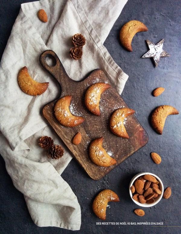 Kipferle _ Ebook 30 recettes de Noël à IG bas