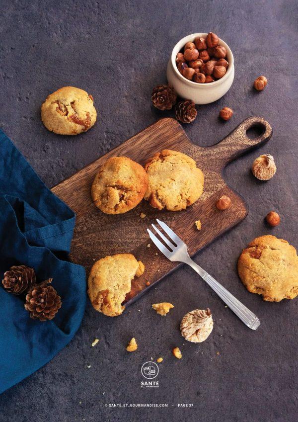 Levain Facile et IG bas _ cookies _ santé et gourmandise