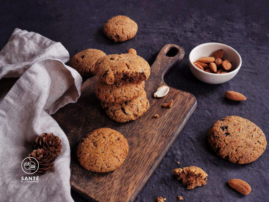 Biscuits IG bas aux pruneaux _ santé et gourmandise