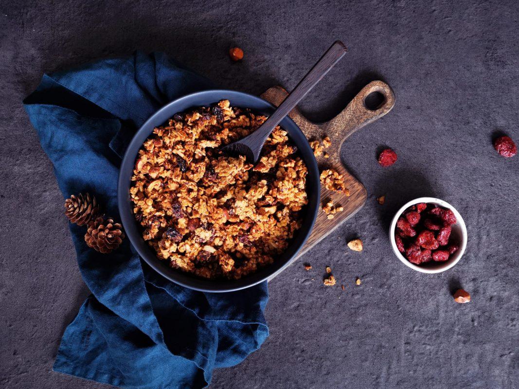 Granola IG bas et ultra gourmand _ santé et gourmandise