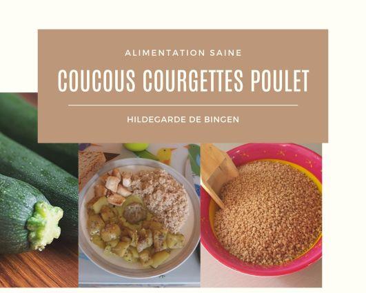 Couscous courgettes poulet