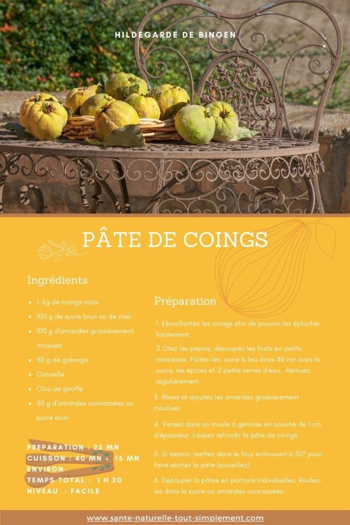 Le coing : fruit aux vertus méconnues (dont on a bien besoin) : recette de la pâte de coing