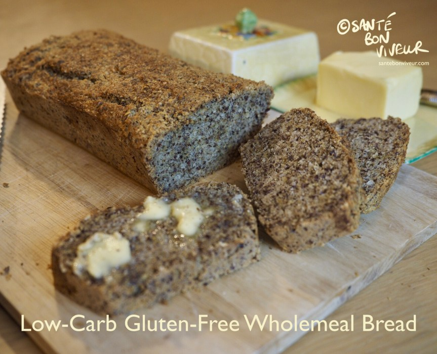 Low-Carb Gluten-Free Wholemeal Bread
