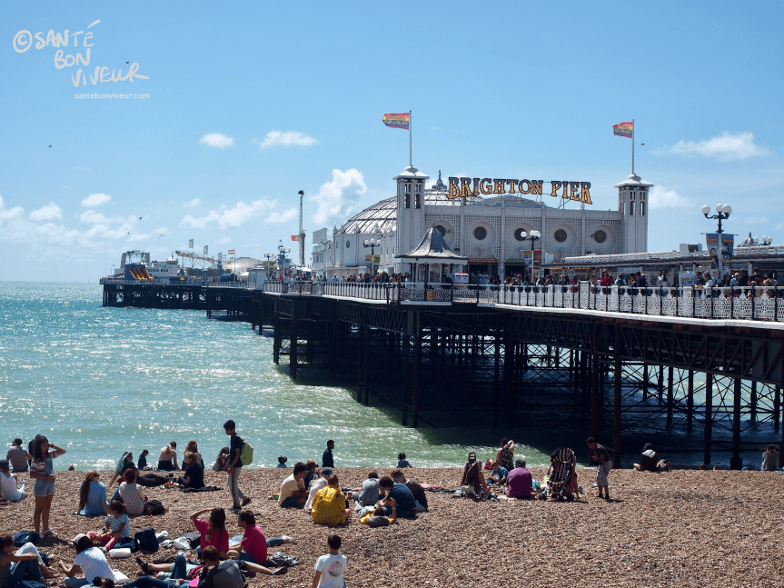 Travel In Pictures Brighton Summer Season: Brighton Pier