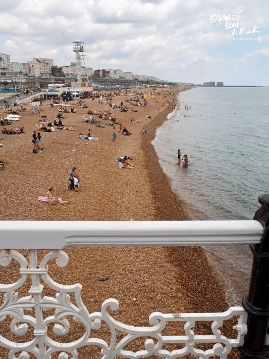 East view from Brighton Pier, towards Kemptown